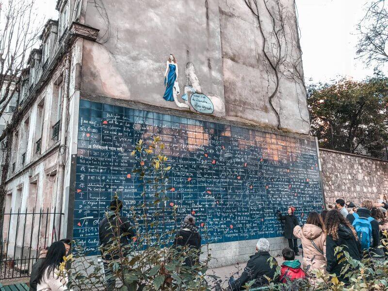 Montmartre: 5 Tipps für das wohl schönste Viertel in Paris, Liebesmauer, 7