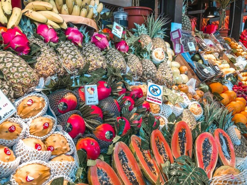 things to do, madrid, mercado de san miguel, fruits