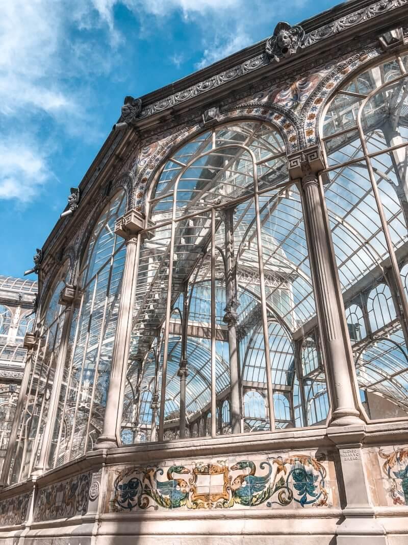 things to do, madrid, retiro, crystal palace, outside