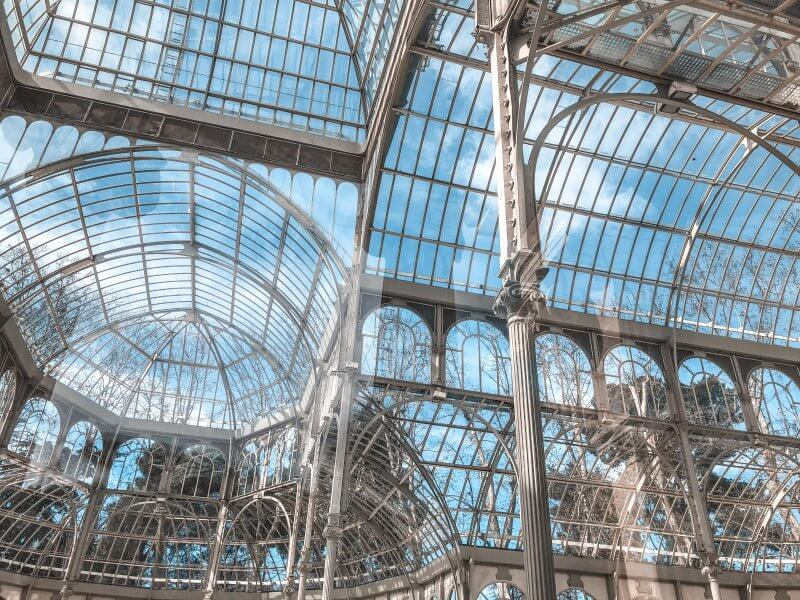 things to do, madrid, retiro, crystal palace, inside
