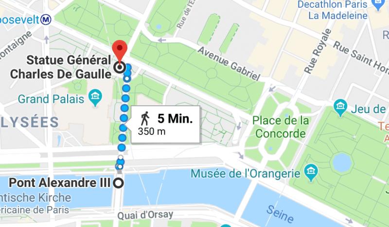 walking, paris, spaziergang durch paris, pont alexandre III, champs èlysées place de la concorde, 2
