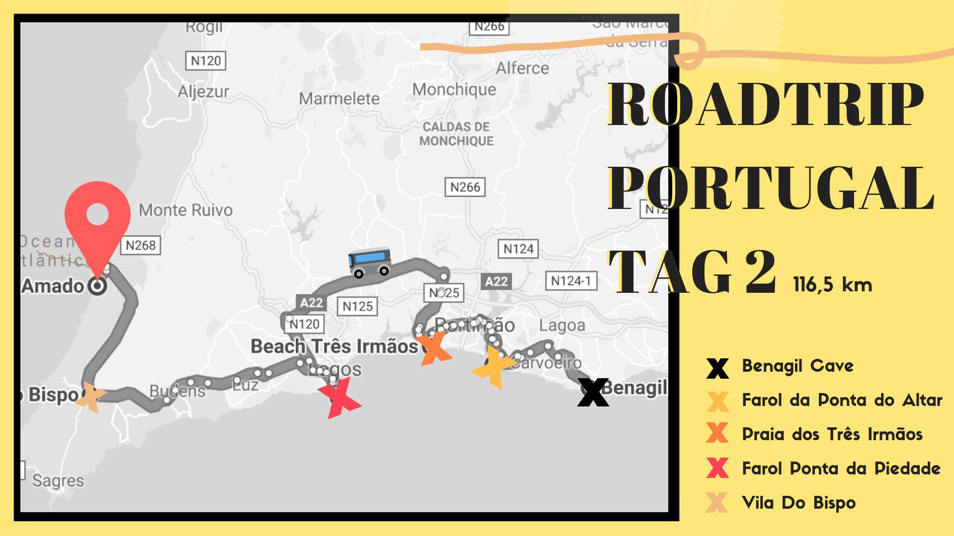 Roadtrip Portugal, Route Tag 2, 20