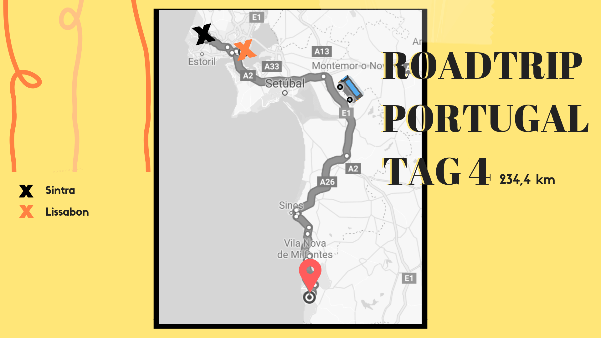 Roadtrip Portugal, Route Tag 4, 22