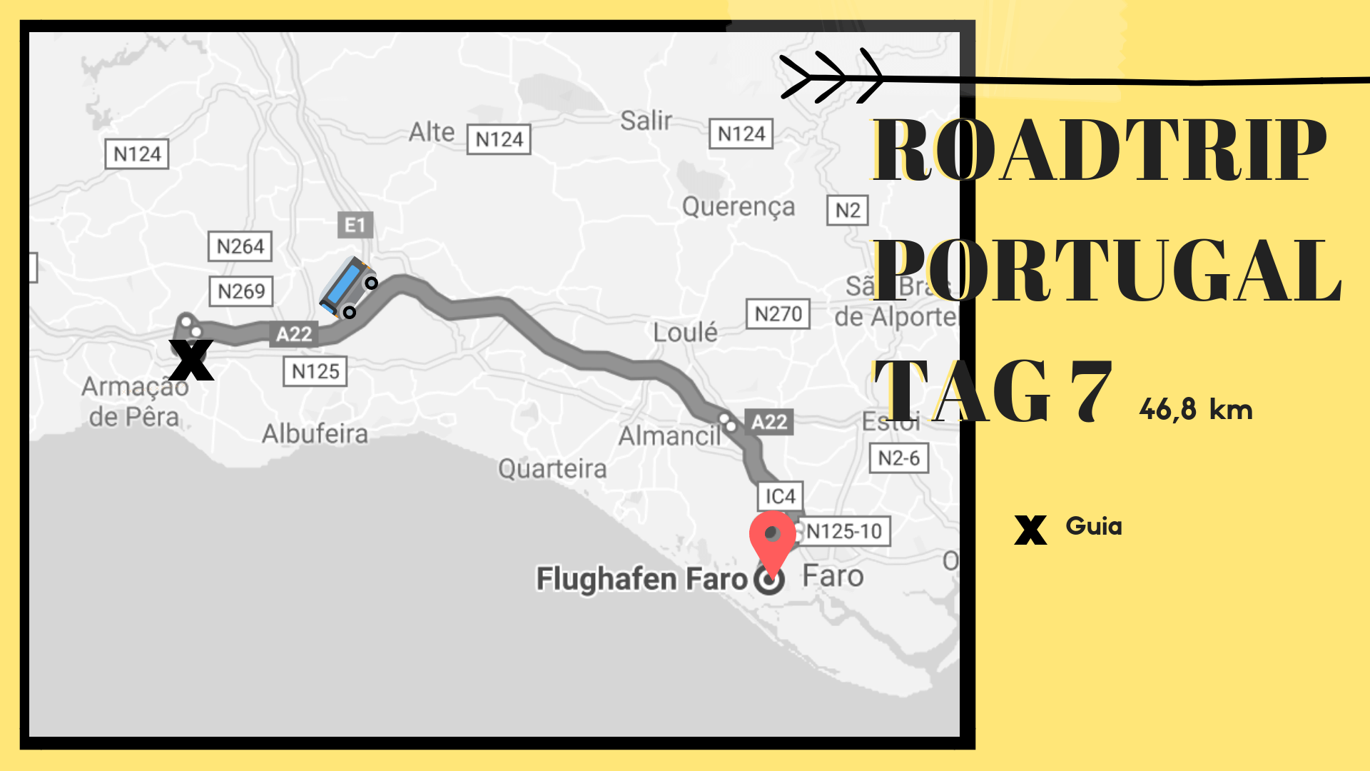 Roadtrip Portugal, Route Tag 7, 25