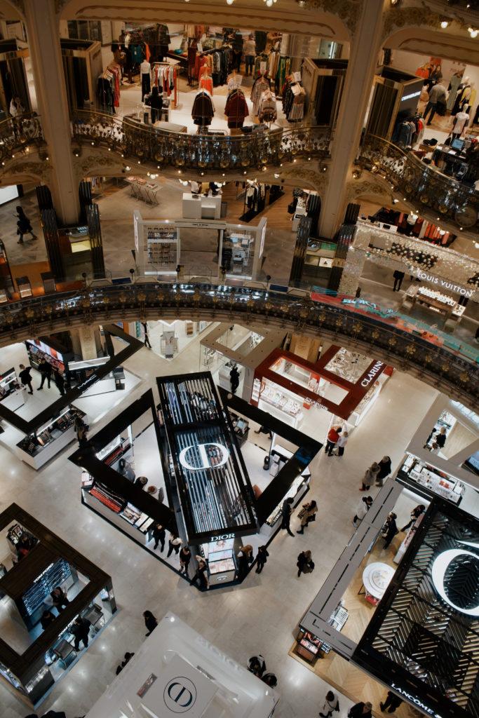 Kaufhaus in Paris, Shopping in Paris, Galeries Lafayette, 7
