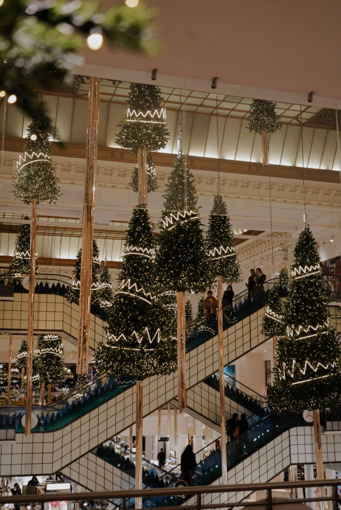Le Bon Marché Weihnachtsdekoration