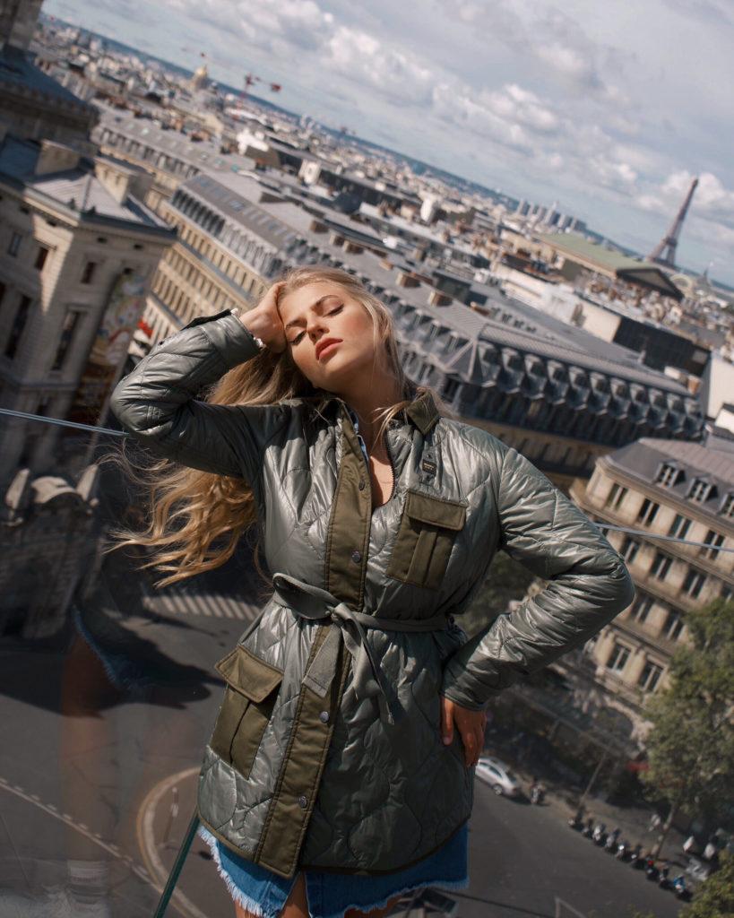 Aussichtspunkt Dachterrasse Galeries Lafayette