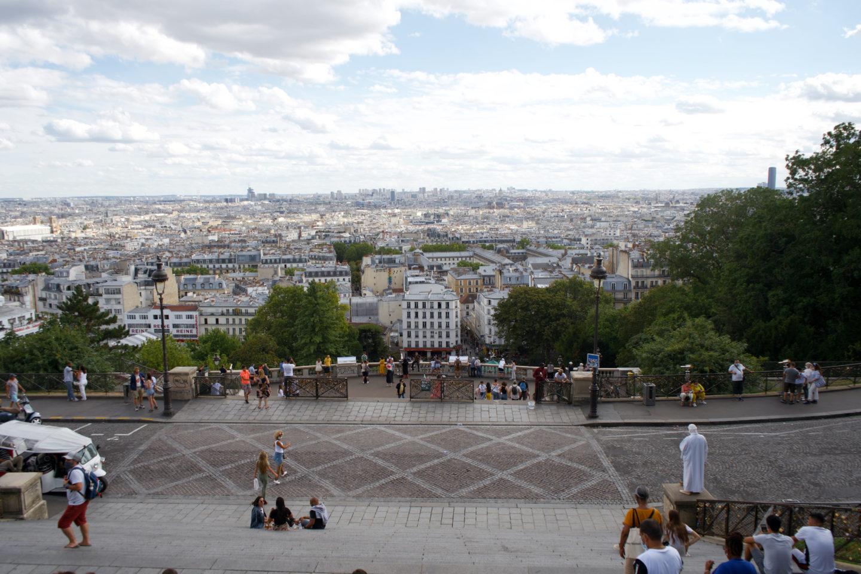 Paris von Oben, Aussichtspunkt Montmartre