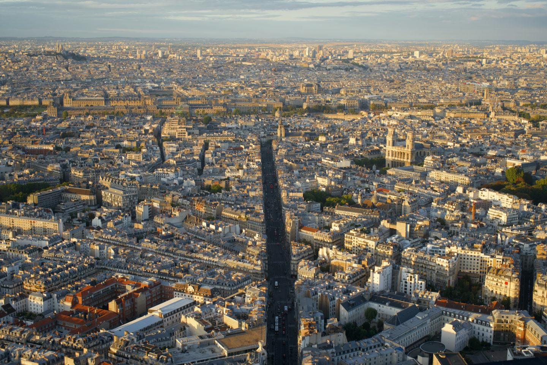Aussicht vom Tour Montparnasse