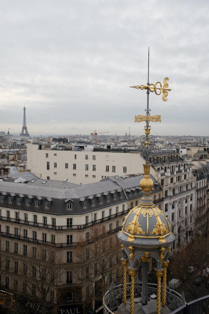 Paris von Oben, Aussichtspunkt Printemps Haussmann