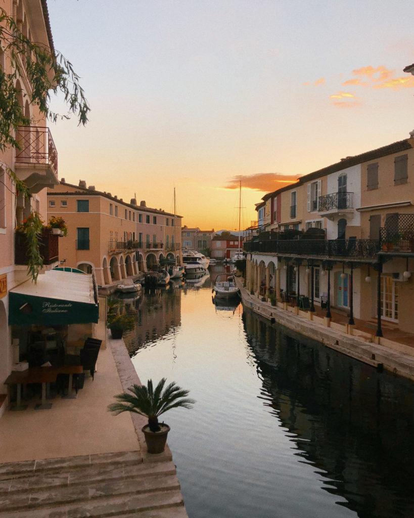 Port Grimaud, das kleine Venedig der französischen riviera