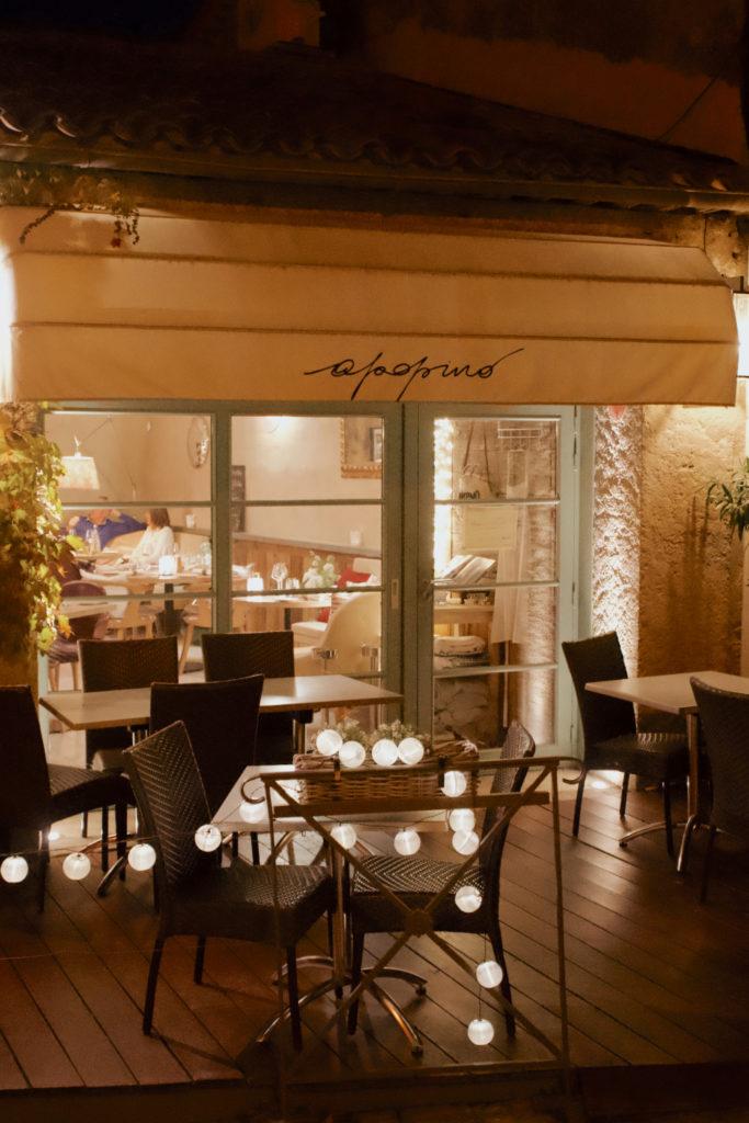 Das wohl beste Restaurant in Grimaud, Apopino