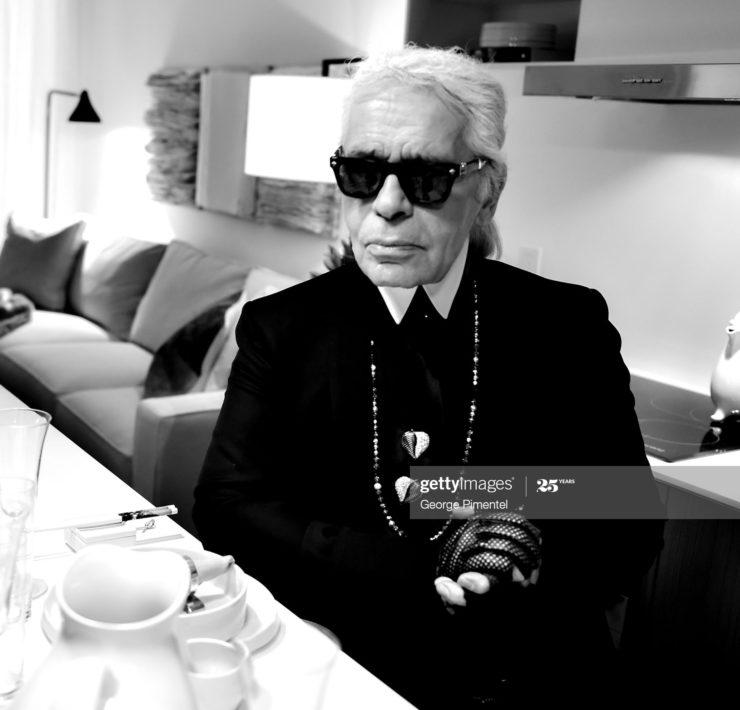 Karl Lagerfeld Sprüche, Titelbild