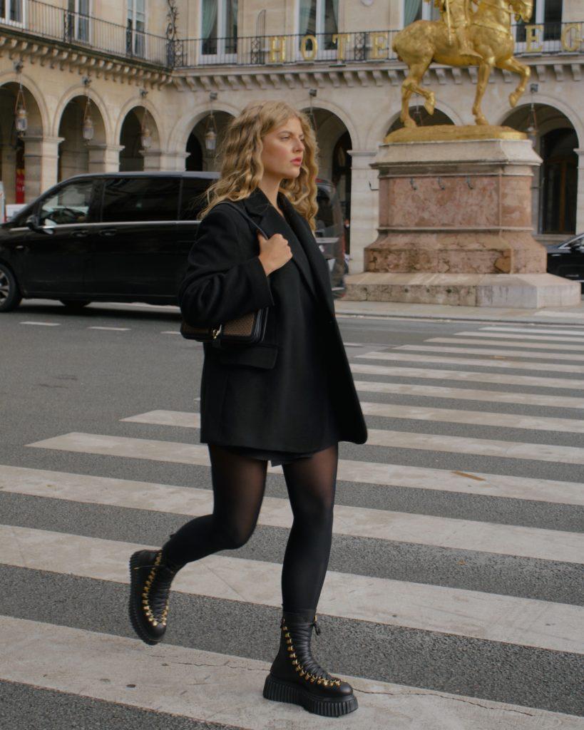 Französische Herbst Capsule Wardrobe, Oversized Blazer