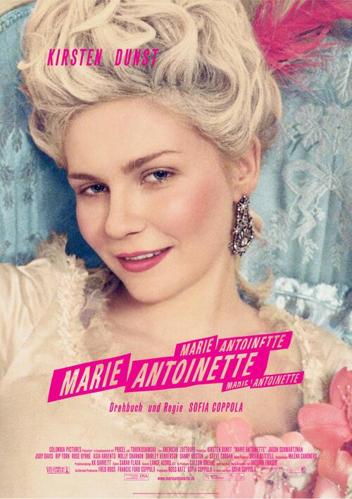 Filme die in Paris spielen,  Marie Antoinette