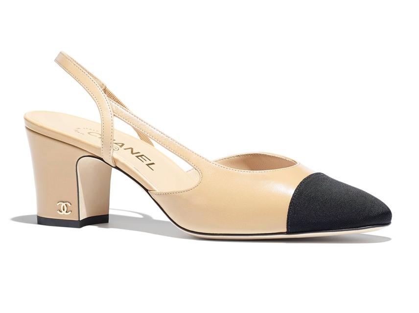 10 zeitlose Schuhe die Pariserinnen lieben, Chanel Slingback Pumps