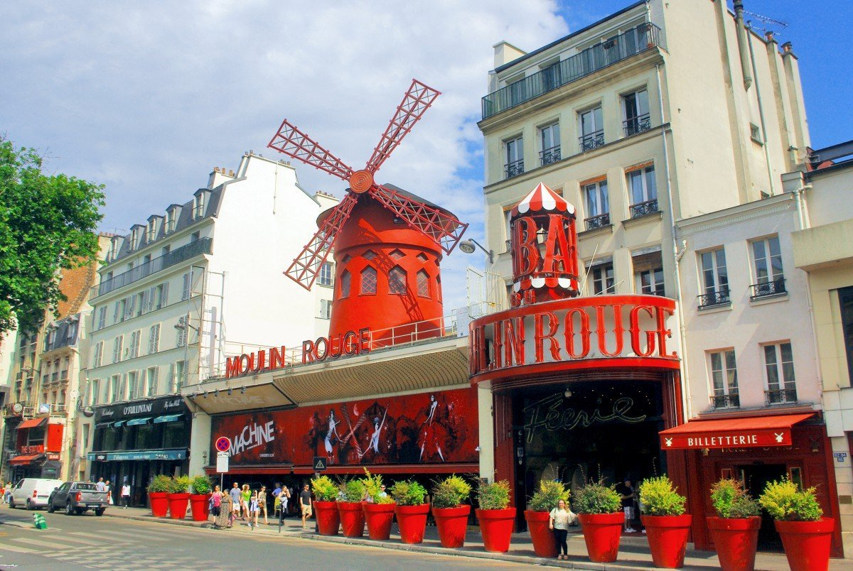Top 25 Sehenswürdigkeiten in Paris, Moulin Rouge