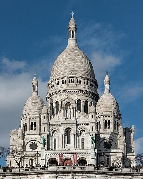 Top 25 Sehenswürdigkeiten in Paris,  Sacre Coeur